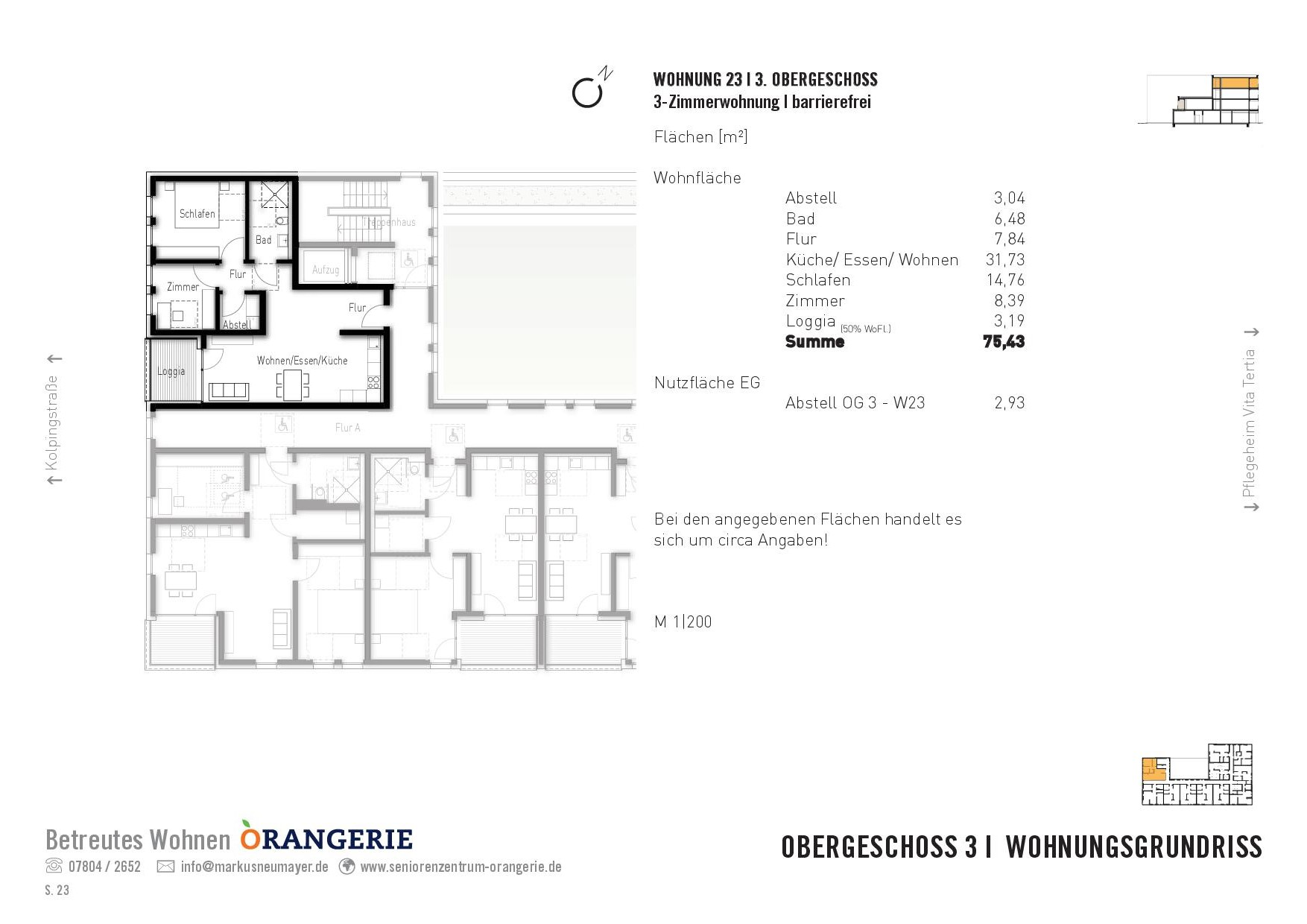 Wohnung Nr. 23