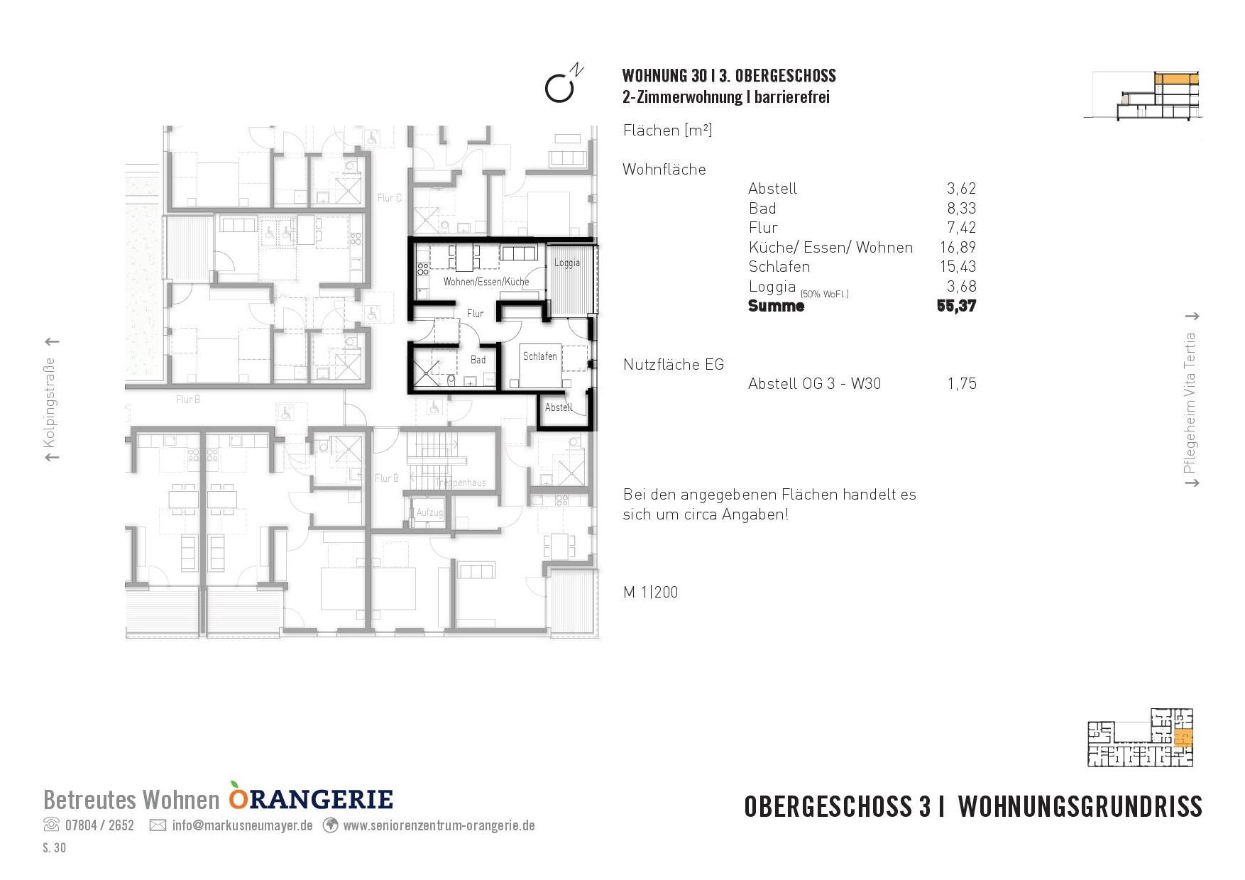 Wohnung 30 Orangerie